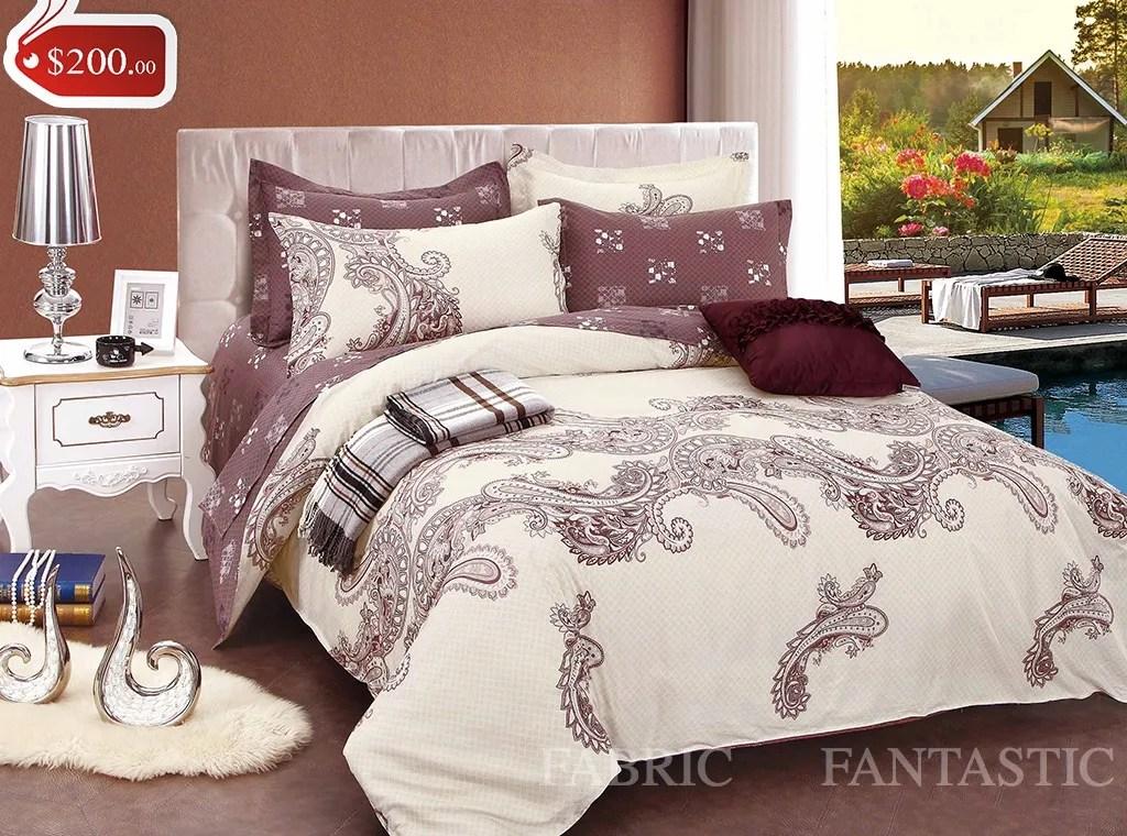 T523 Super King Size Bed DuvetDoonaQuilt Cover Set New