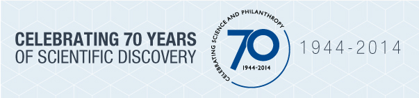 Celebrating 70 years of scientific discovery