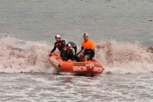 IRB Boat Racing team is competing in the NSW IRB racing premiership