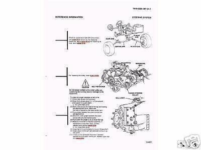 11,500+ PAGE M998 Army HMMWV HUMMER HUMVEE Repair Operator
