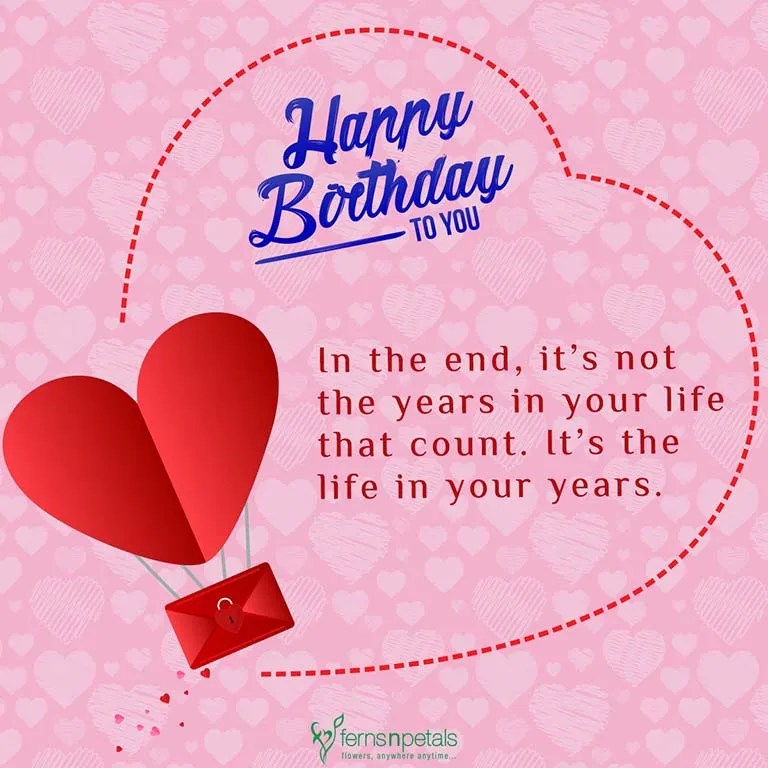 30 Best Happy Birthday Wishes Quotes & Messages Ferns