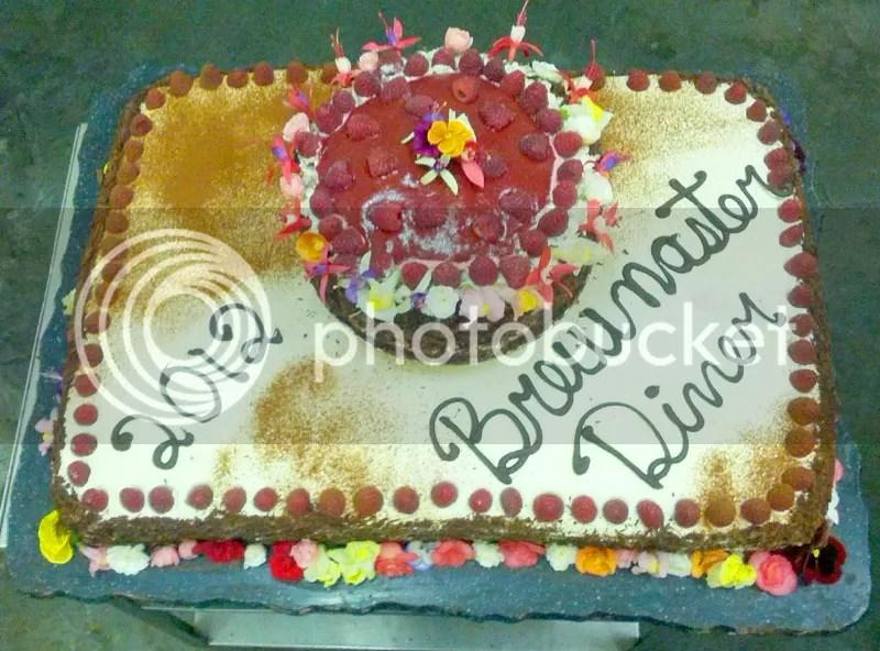 Swans 2012 Brewmaster Dinner Cake