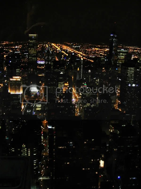 Chicago Night Photo