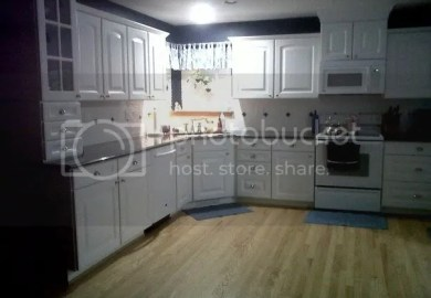 Grey Thermofoil Kitchen Cabinets