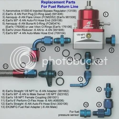 Aeromotive Fuel Pressure Regulator Diagram Including Diagram Of A