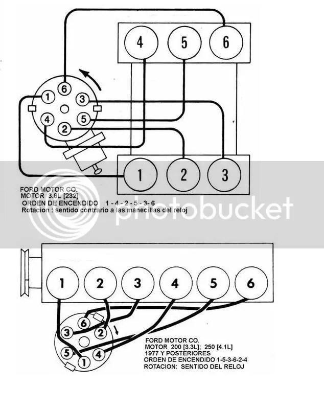 Orden de encendido de ford 4.6