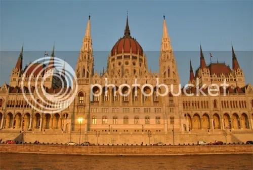Parliament Sunset