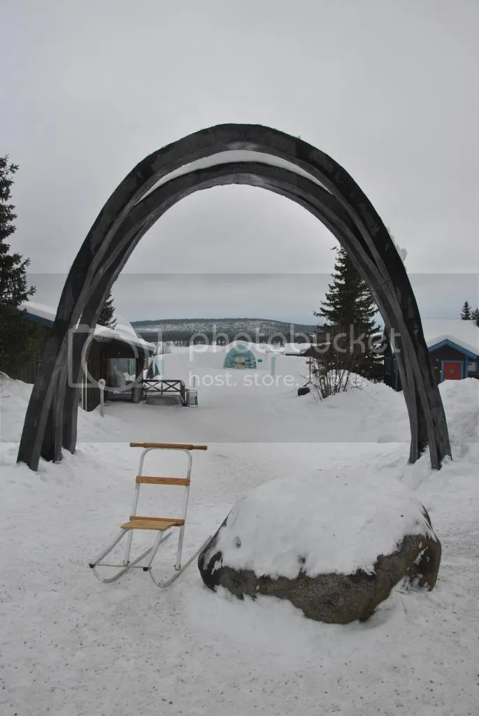 Ice Hotel Grounds
