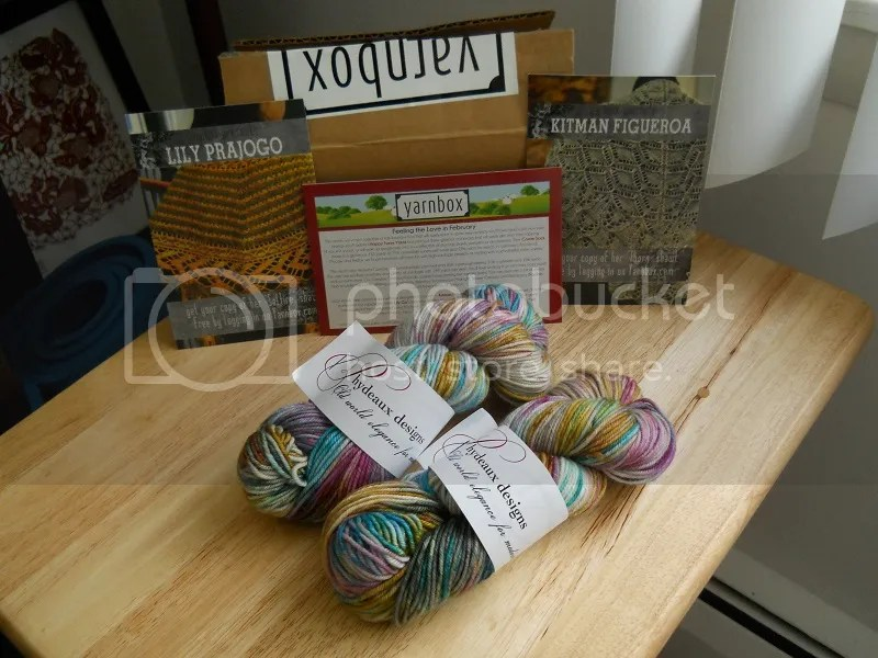 February 2014 Yarnbox: feeling the love