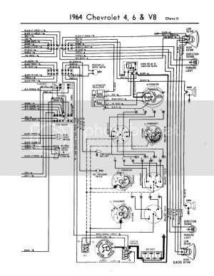 64 chevy II steering column wiring diagram  Chevy Nova Forum