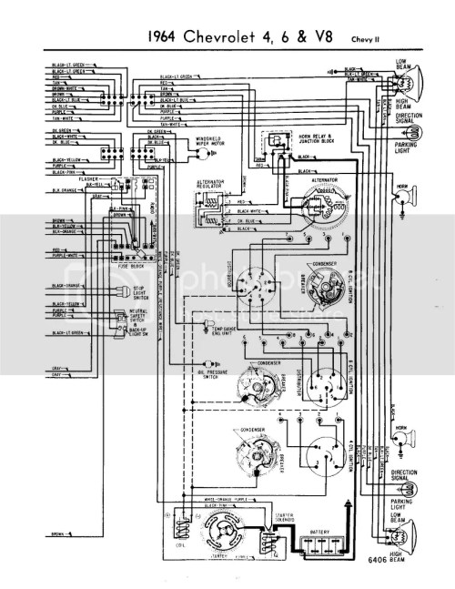 small resolution of 64 chevy ii steering column wiring diagram chevy nova forum rh stevesnovasite com gm points ignition
