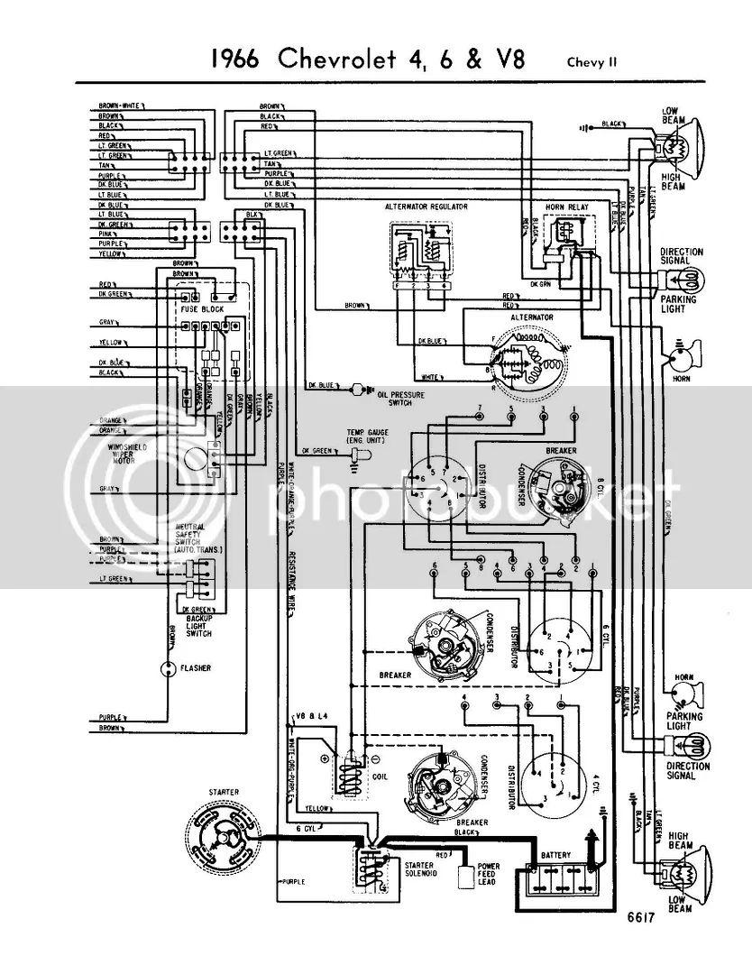 1966 chevy chevelle wiring diagram
