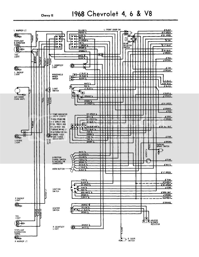 medium resolution of 1968 chevy impala wiring diagram wiring diagram load 1968 chevy impala wiring diagram
