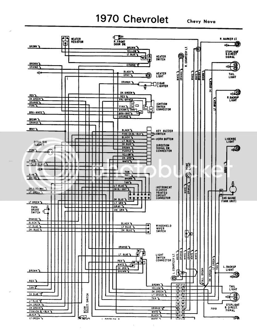 1970 chevy nova wiring diagram dodge alternator 70 electrical issue forum