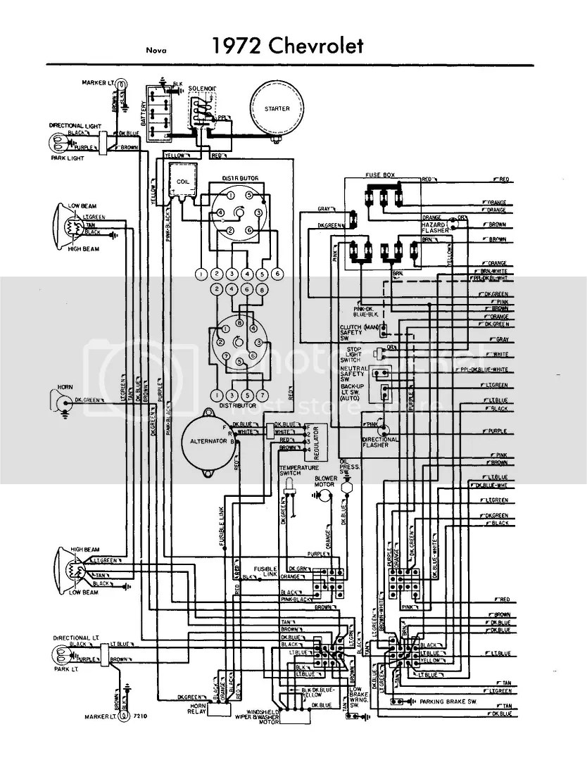 Wiring Harness 73 Nova Free Wiring Diagram For You