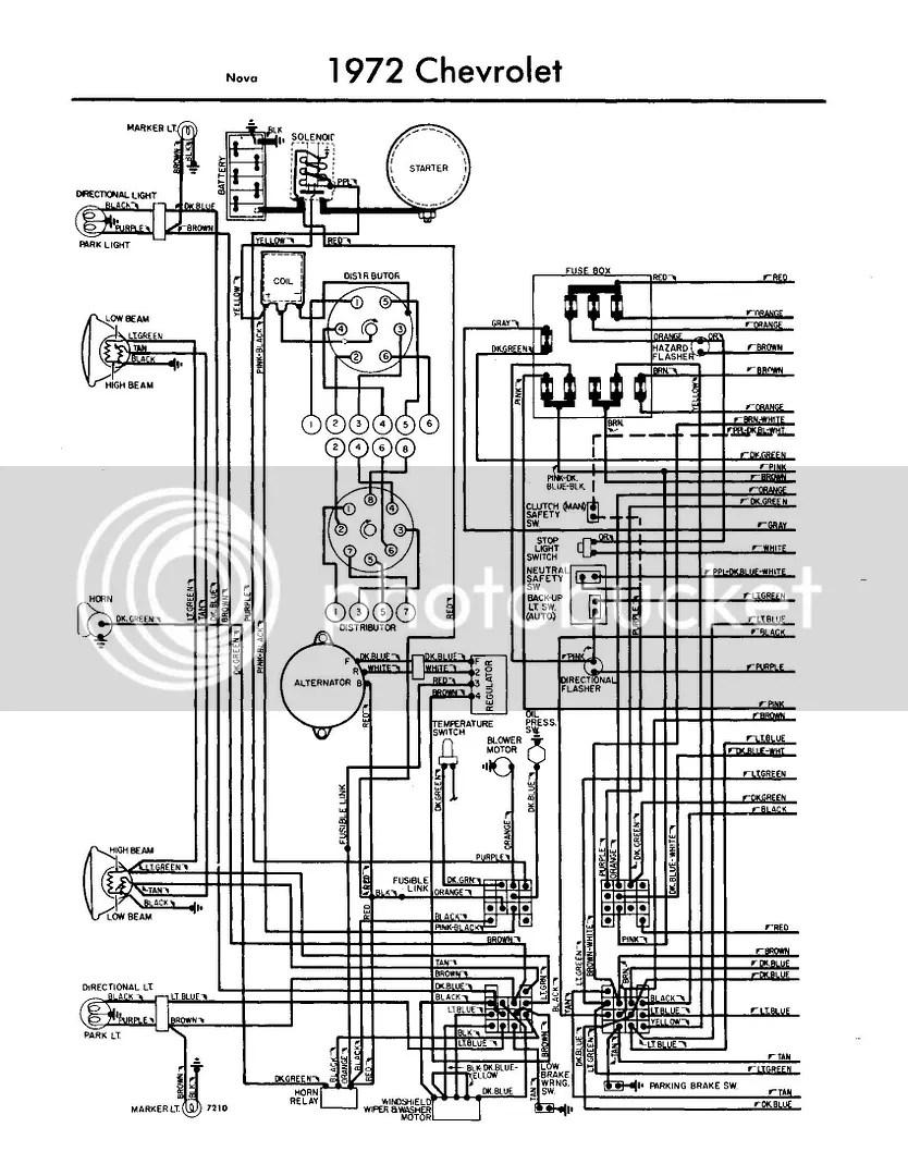 wiring harness 73 nova