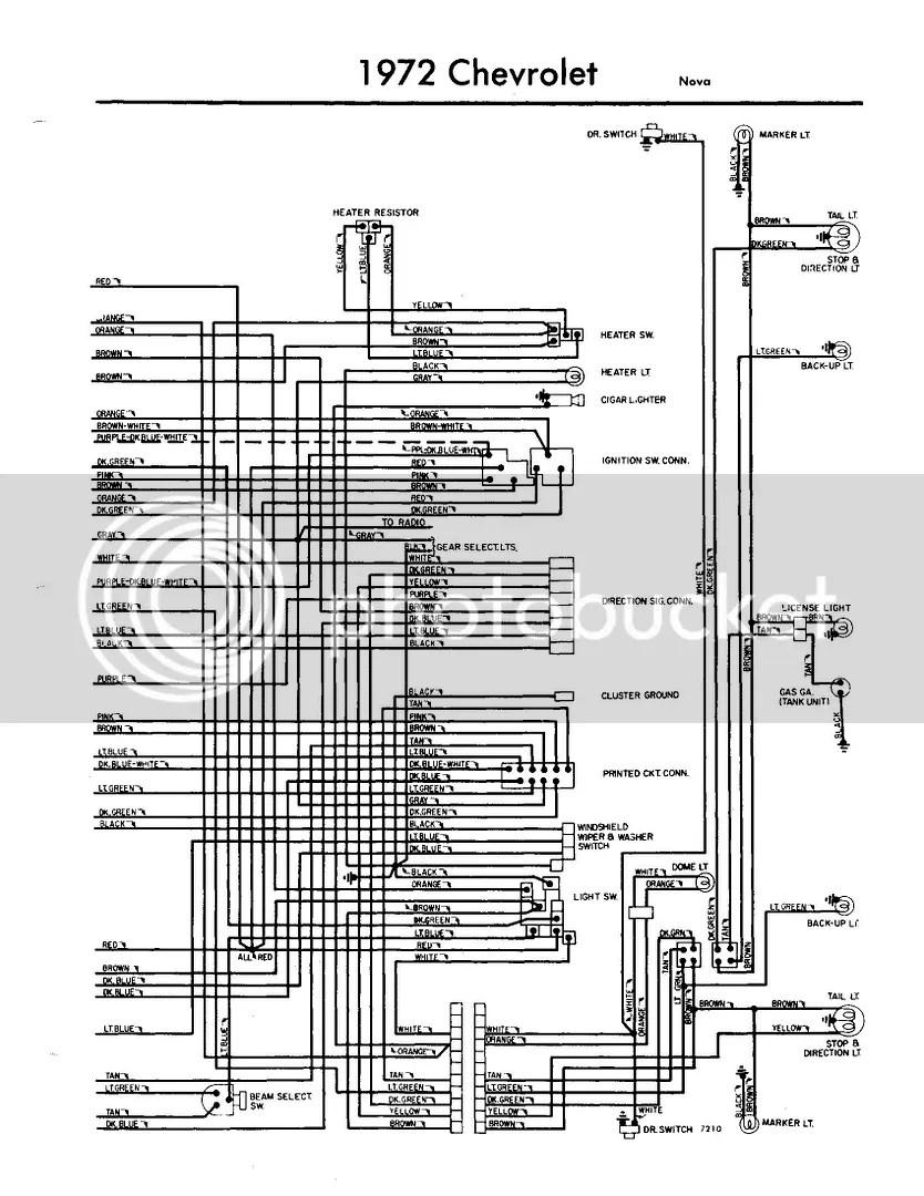 1972 nova wiring harness diagram psc fan motor 72 w heater blower problem chevy forum