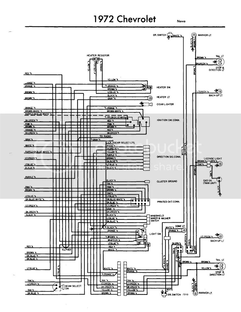 medium resolution of 1975 nova wiring diagram