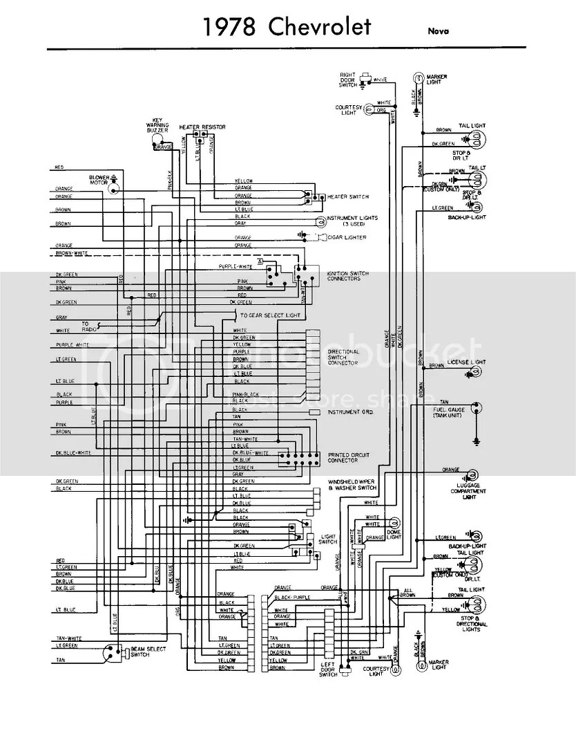 Chevy Nova Wiring Diagram Furthermore 1974 Chevy Nova