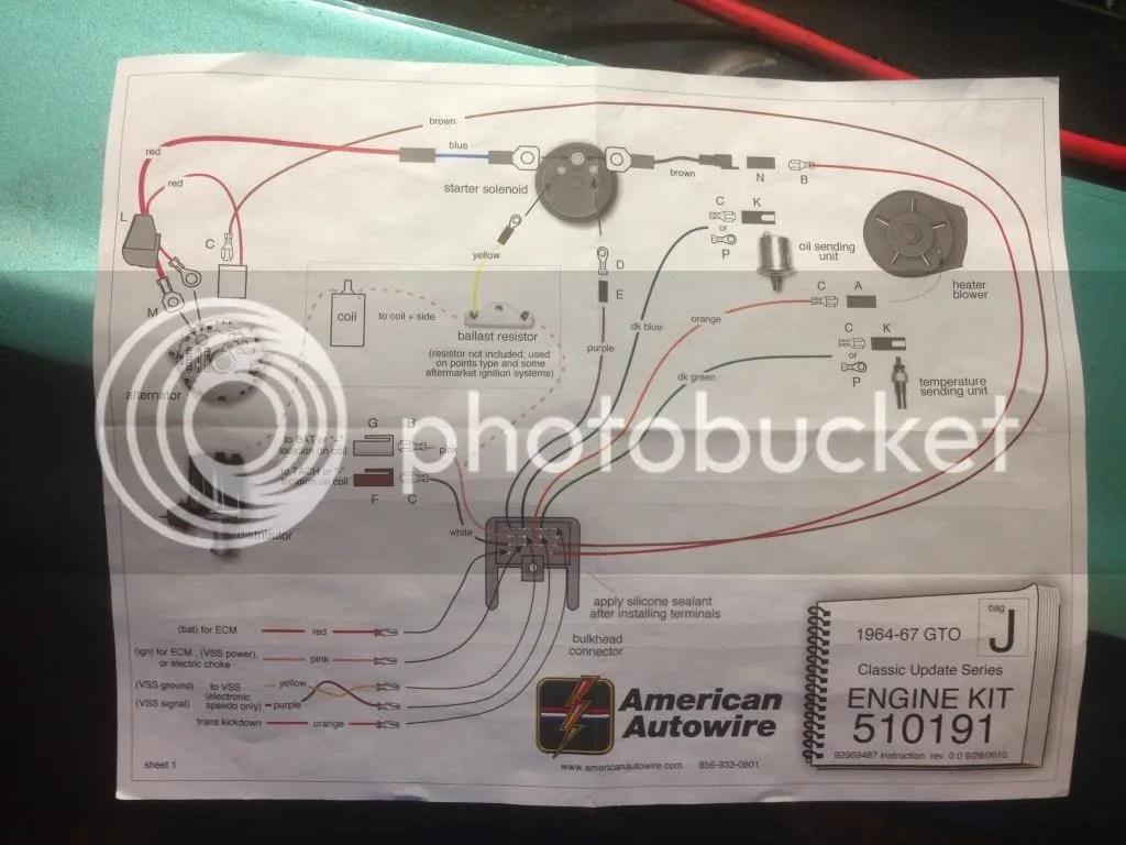 American Autowire Diagrams Alternator Advice Pontiac Gto Forum