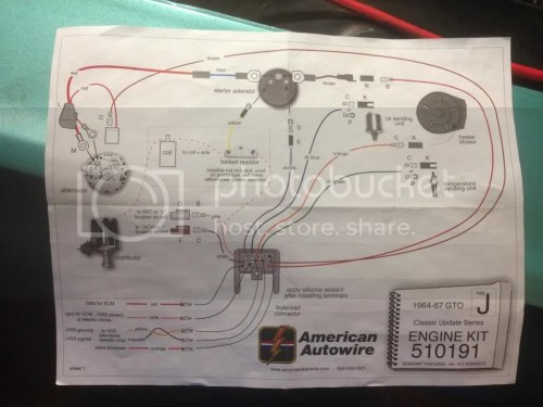 small resolution of 1965 gto alternator wiring diagram