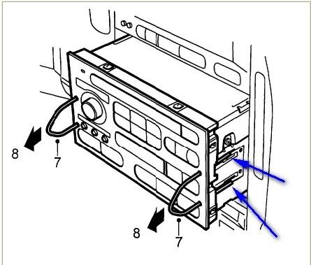 (2) New RADIO REMOVAL TOOL SET for SAAB CAR STEREO HEAD