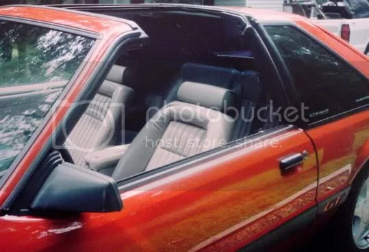 1987 Ford Mustang T Top