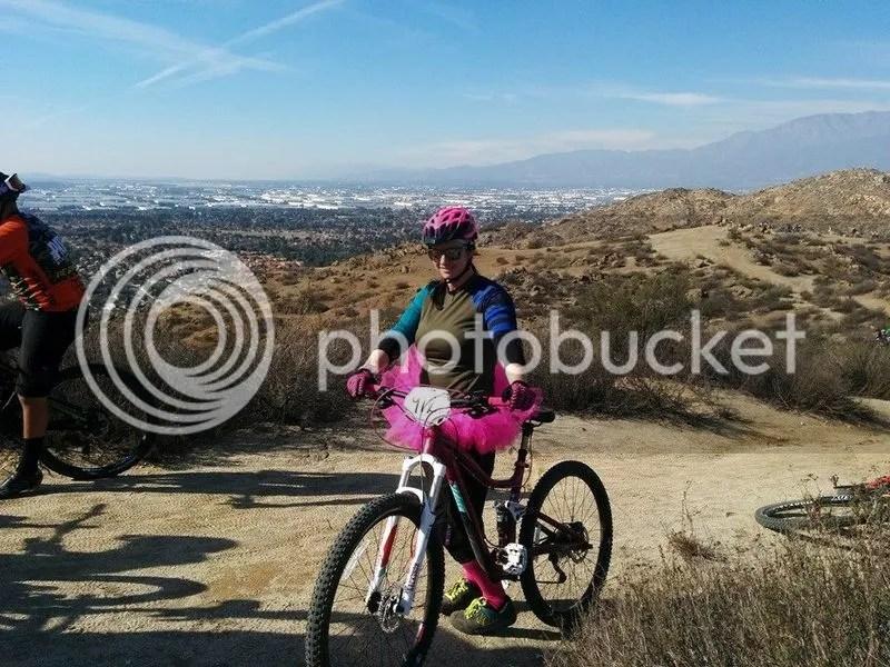 Ready to go mountain biking!