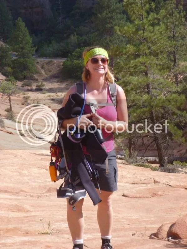 Ready to go canyoneering!