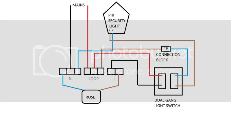 DIAGRAM security sensor light wiring diagram efcaviation com wiring 2 pir sensors diagram at bakdesigns.co