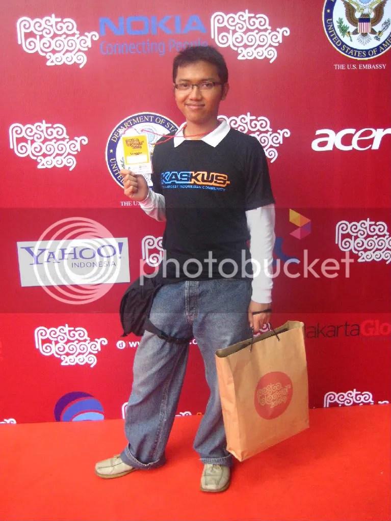 Haidar Ahmad di Pesta Blogger 2009