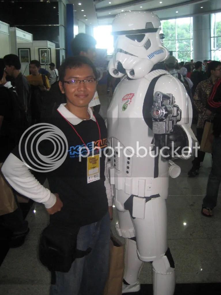 Ada Stormtroopers juga ternyata di Pesta Blogger 2009