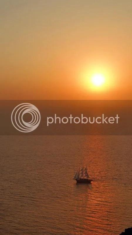 Oia Sunset, Santorini, Greece