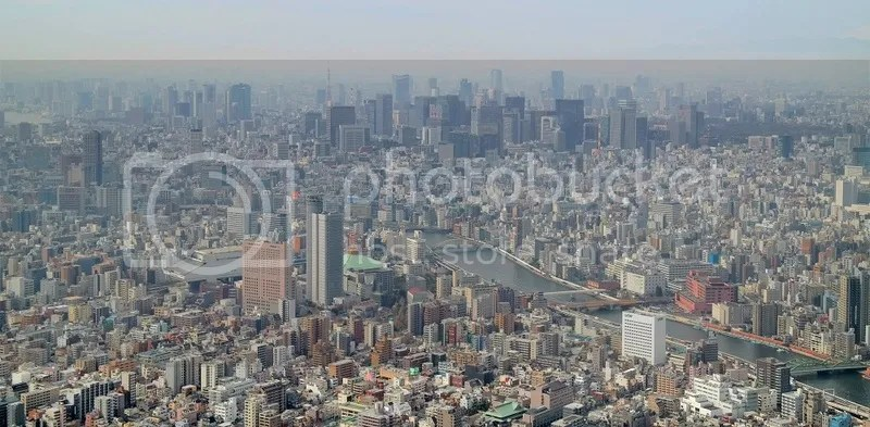 Tokyo as seen from Tokyo Skytree, Tokyo, Japan