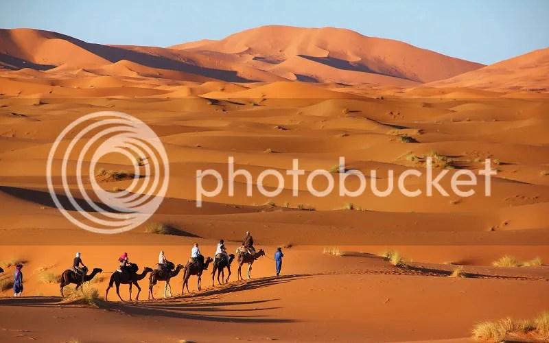 Erg Chebbi, Merzouga, Sahara Desert, Morocco