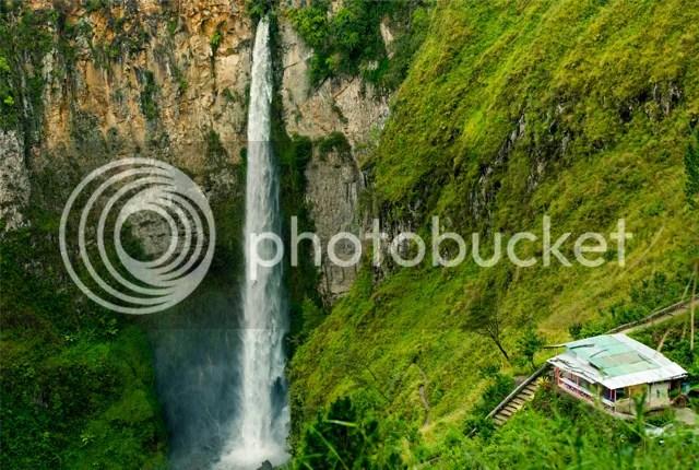 Sipisopiso Waterfall, Tongging, North Sumatra, Indonesia