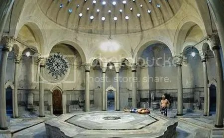 The typical setting of a Turkish Bath