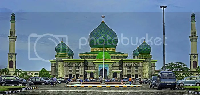 An-Nur Great Mosque, Pekanbaru, Riau, Indonesia