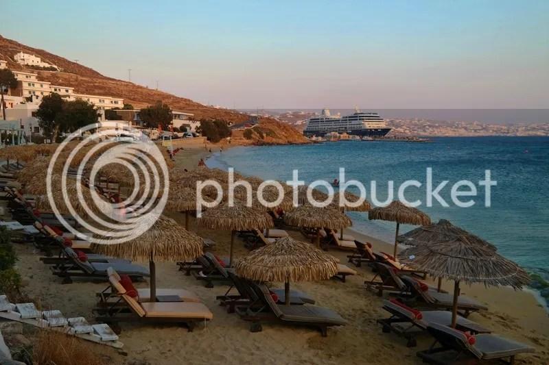 Agios Stefanos Beach, Mykonos, Greece