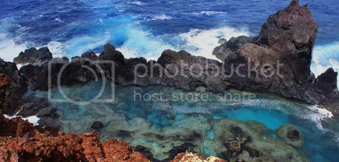 St. Paul's Rock and Natural Pool, Pitcairn Island