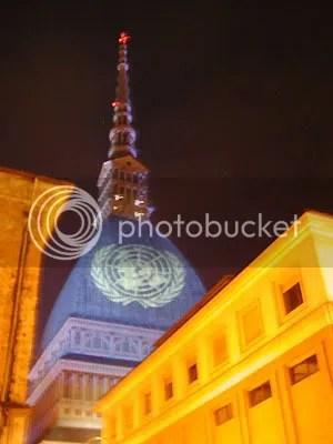 Mole Antonelliana, blu, ONU