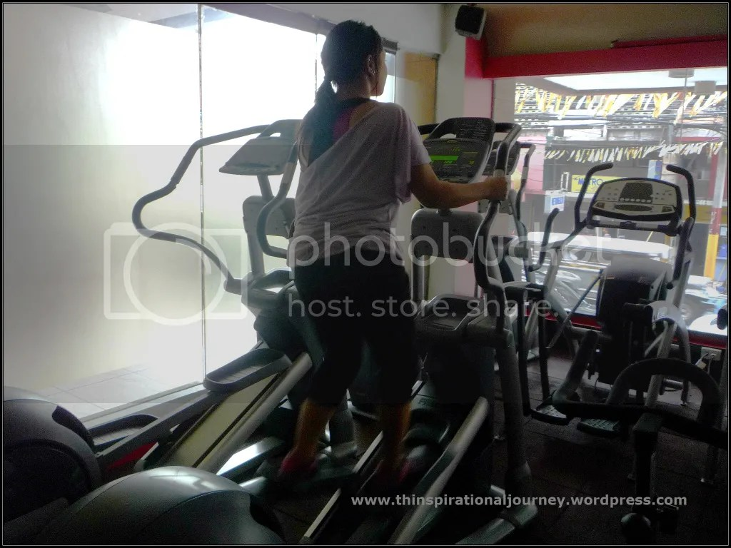 Lara Novales Eclipse 24/7 Fitness Center Philippines