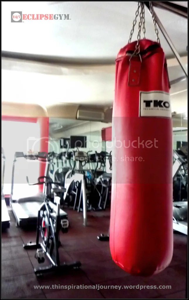 Eclipse 24/7 Fitness Center punching Bag