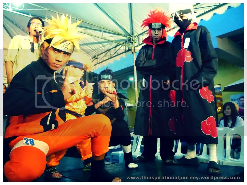 Naruto Anime/Manga cosplayers at The Pergola