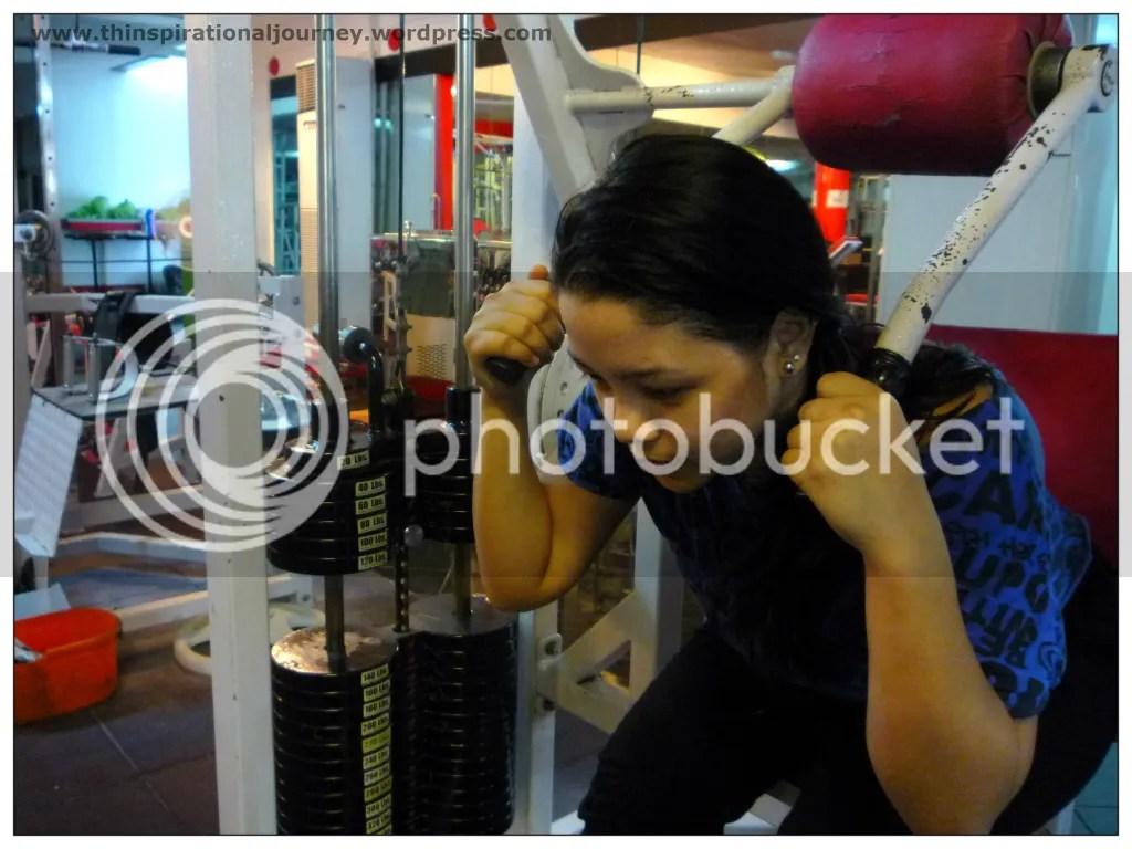 Lara Novales Ab Crunch Machine Eclipse Gym Manila