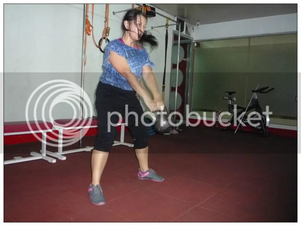 Two Arm KettelBell Swing