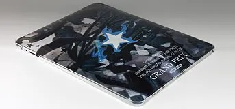 Grand Prize: iPad dengan custom case Black Rock Shooter