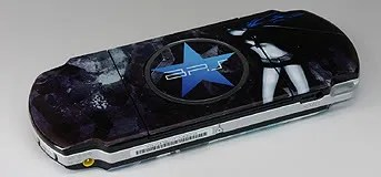 Gold Prize: PSP dengan custom case Black Rock Shooter