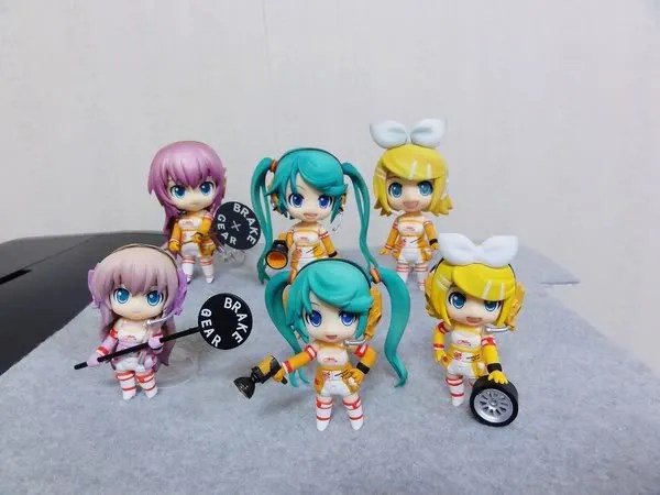 Nendoroid Petit Racing Miku Set 2010 version