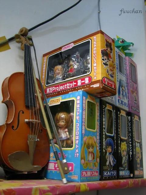 fuuchan's indoor Nendoroid storage